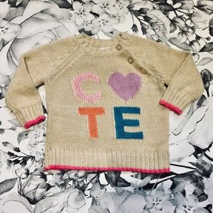 Beige CUTE Sweater